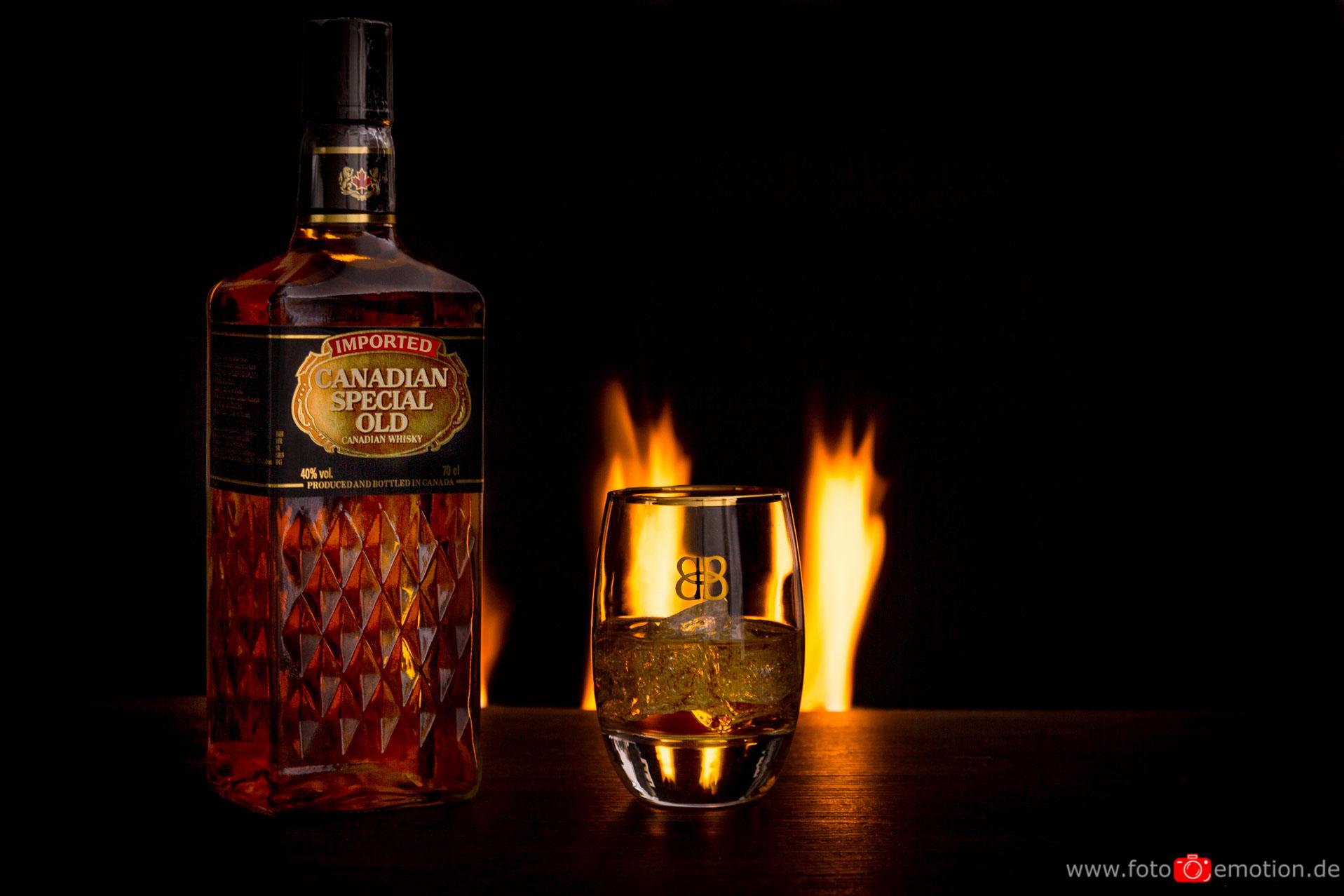 Produktshooting Whisky