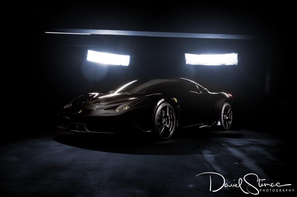 "Auto-Shooting der besonderen Art ""Ferrari 458 speciale"""